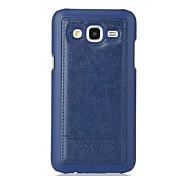cuir d'affaires étui de téléphone pour samsung galaxy j5 / j7 (couleurs assorties)