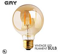 1 Stück GMY E26 3W 4 COB ≥300 lm Warmes Weiß G80 edison Vintage LED Glühlampen AC 110-130 V