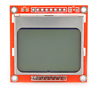 1.6 Inch LCD Nokia 5110 LCD Module with White Backlit for Arduino