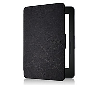 New Arrival Handheld Leather Case Cover For Amazon Kindle Voyage 6inch Ereader Stand Case