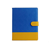 doppi colori misti caso della copertura di vibrazione per ipad mini 1/2/3 (colori assortiti)
