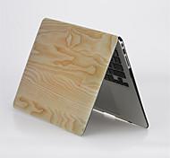 """grano de madera de diseño mate cubierta de la caja de cuerpo completo dura para el aire del macbook macbook 11 """"/ 13"""""""