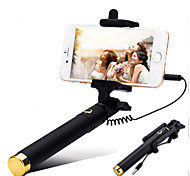 Mini 3 Extendable Handled Stick with A Built-in Remote Shutter Designed for Apple, Android Smartphones