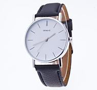 Masculino Mulheres Relógio Esportivo Relógio Elegante Relógio de Moda Relógio de Pulso Quartzo Mostrador Grande Tecido Banda Pendente