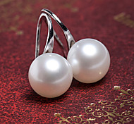 Women's New Fashion Simple Elegant Pearl Stud Earrings