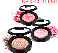 Red&Black  High-tech Baked Blush Soft Silky Shining Colorful 9g