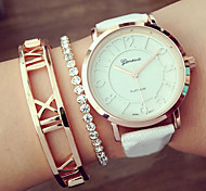 Geneva Quartz Analog WristWatch Fashion Women'S Watches Hollow Numerals  Montres Femme Girls Watch Gift idea