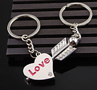 A Pair Cupid Arrow Couple Key Chain Lovers Pendant Key Ring Key Chain For Lovers