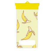 Cartoon Banana Mobile Phone Waterproof Bag
