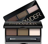 Bioaqua®Highlight Eyebrow Powder Black/Brown/Beige 6g 1Pc