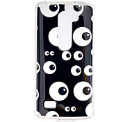 Eye  Pattern TPU Phone Case for LG Leon /LG C40 H340N