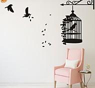 Animali / Romanticismo / Fashion Adesivi murali Adesivi aereo da parete,PVC S:30*42cm/ M:42*58cm/ L:55*77cm