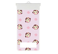 Cartoon Cute Monkey Mobile Phone Waterproof Bag