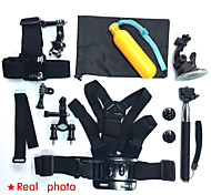 GoPro accessories 17 in 1 Family Kit  for GoPro HD Hero 3 3+ 4 xiaomi yi