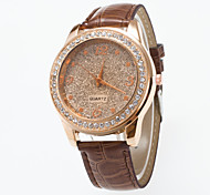 2016 Special Design Ladies Wristwatch Fashionable  Wristwatch With Rhinestone And Frosting  Dial Women's Watch