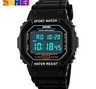 Men's Women's Unisex Sport Watch Digital Watch LCD Calendar Chronograph Water Resistant / Water Proof Dual Time Zones Sport Watch Digital