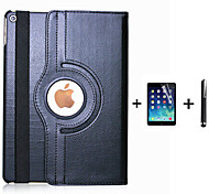 pu leather flip slimme stand 360 draaiende case voor de iPad AIR3 + screen protector film stylus pen (diverse kleuren)