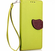 Deluxe Litchi Leaves Wallet Leather Flip Tpu Case For Sony Xperia E4 Wallet Handbag + Lanyard