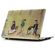 Colored Drawing~2 Style Flat Shell For MacBook Air 11''/13''