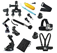 Accessori GoPro Monopiede / Ventosa / Con bretelle / Accessori Kit / Montaggio Tutto in uno, Per-Action cam,Xiaomi Camera / GoPro Hero 5
