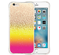 World Of Color Soft Transparent Silicone Back Case for iPhone 6/6S (Assorted Colors)