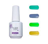 ILuve Gel Nail Polish Set - Pack Of 4 - Long Lasting 3 Weeks Soak Off UV Led Gel Varnish – For Nail Art #4036