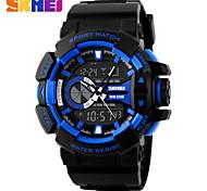Men's Women's Unisex Sport Watch Digital Watch LCD Calendar Chronograph Water Resistant / Water Proof Solar Sport Watch Digital PU Band