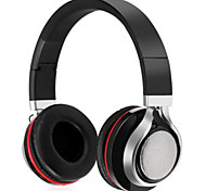 On-the-ear Stereo Blueooth Wireless Headphones Computer Headsets with AUX Audio Cable FM Radio HIFI Noise Cancelling