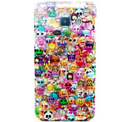 For Samsung Galaxy Case Pattern Case Back Cover Case Cartoon TPU Samsung A5 / A3