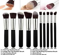 prime pinceau de maquillage synthétique mis fondation de cosmétiques blush mélange poudre pour le visage brosse kit de pinceau de