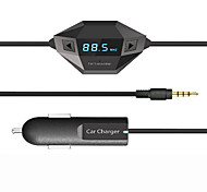 Bluetooth FM-Transmitter, universelle drahtlose FM-Transmitter / MP3-Player / Kfz-Ladegerät