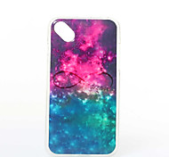 Starry Sky Pattern TPU+IMD Soft Case for Wiko Sunset2