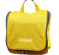 Travel Toiletry Bag / Inflated Mat Waterproof Travel Storage Fabric Orange / Blue / Pink / Yellow