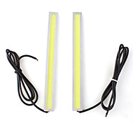 2 x mazorca 5w llevó bombilla lámpara diurna Luz Blanco Bajo consumo para coche coche
