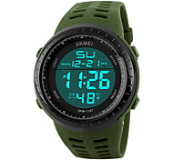 Men Military Fashion Sporty LCD Digital Waterproof Sports Watch