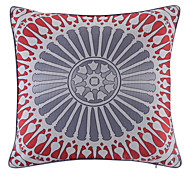 Polyester Pillow With Insert,Geometric Casual 18x18 inch