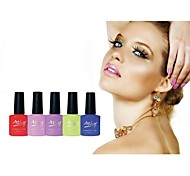 1 Pcs UV Gel Nail Polish Long-Lasting Nail Gel Soak off LED lamp Gel Polish 10ml
