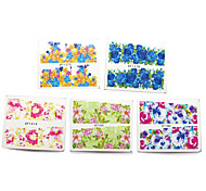 50pcs Hot New Flower Manicure Tools Nail Art Water Stickers DIY Full Tips Decals Decorations Stamping