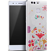 Abstract Flowers Summer Stars Ultra Thin Soft Protective Back Cover Huawei Case for Huawei Ascend P9