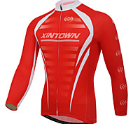 Red XINTOWN Cycling Bike Long Sleeve Clothing Bicycle Jersey