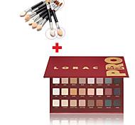venda 32 cores set Maquiagem Sombra quente pincel de sombra + 10pcs olho