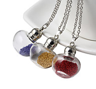 HUALUO®Retro sweater accessories pendants series dried flowers apple shape Wishing bottle