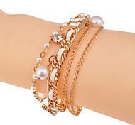 Fashion Glaze Drill Acrylic Bracelet