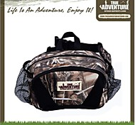 Camouflage Outdoor Hiking Camping Waterproof Multifunctional Belt Bag