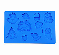 Prince and Princess Design Fondant & Gum Paste Silicone Cake Embossing Mold