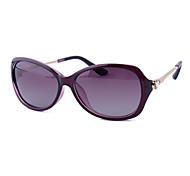 Sunglasses Women's Elegant / Modern / Fashion Oval Black / Brown / Red / Purple / Blue Sunglasses Full-Rim