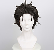 Parrucche Cosplay Cosplay Cosplay Grigio Corto Anime Parrucche Cosplay 35 CM Tessuno resistente a calore Uomo