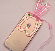 TPU Rabbit Pattern Back Case for iPhone 6