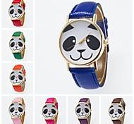 2016 nouvelle arrivée adolescente montre-bracelet mignon de cadran de dessin animé impression montre-bracelet unisexe promotionnel