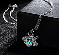 Women's Pendant Necklaces Alloy Green Blue Light Blue Jewelry Wedding Party Daily Casual Sports 1pc